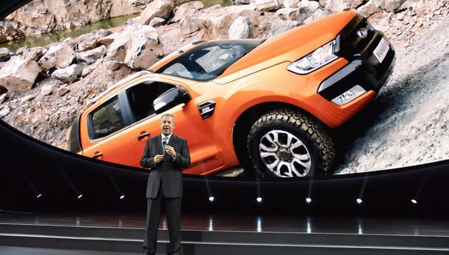 福特汽车将携新款Ranger回归中型皮卡市场高清图片